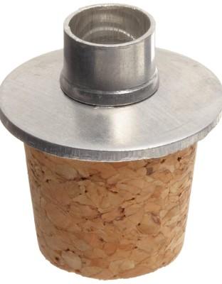 Cork/Alum Stpr For 100 mL Alch Burner